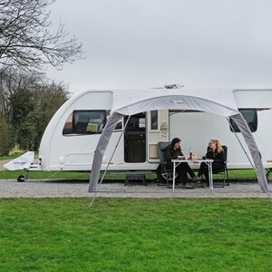 Monday morning coffee is much better when you're relaxing under your Vango caravan sun canopy 😀  #camping #love #tent #awning #chilltime #adventure #love #instagood #happy #picoftheday #vango #friends #bestfriends #family #campingrecycled #campingfood #campinggear #campingessentials #camp2018 #campingtrip #campingwithpets #campingwithkids #campingwithdogs #campingseason #wildcamping #RV #motorhome #caravan
